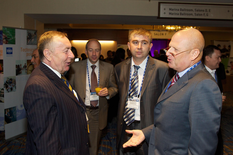 Члены российской делегации на Генеральной Ассамблее ISO 2012 года