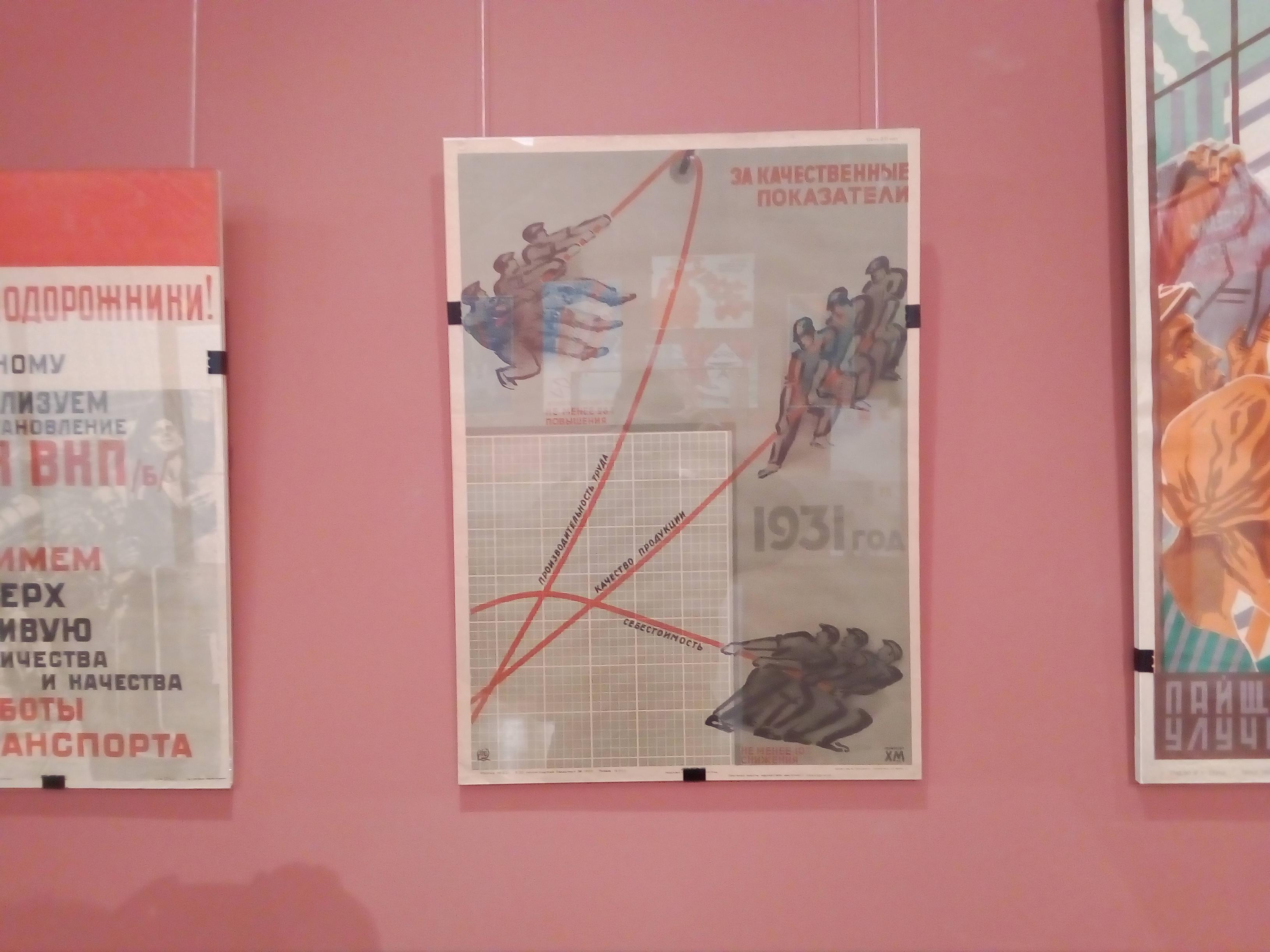 Советский плакат За качественные показатели